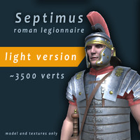 3d roman legionnaire light