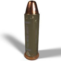 3d metal jacket bullet