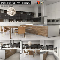 3d model kitchen varenna phoenix