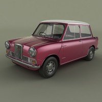 wolseley hornet 3d 3ds