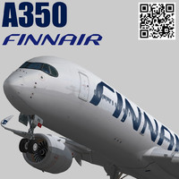3d games finnair model