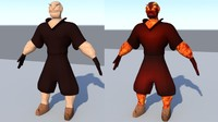 3d model man power