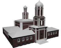 real historical building 3d 3ds