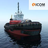 3d tugboat type z-peller length