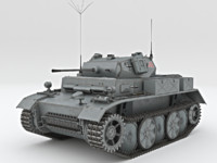 3d light tank pzkpfw ii