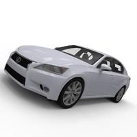3d lexus gs model