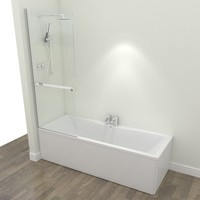 bath shower 3d max