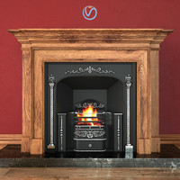 3d model regency hob grate fireplace