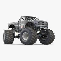 monster truck raminator rigged max