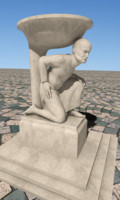 max farmer sculpture