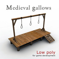 Medieval Gallows