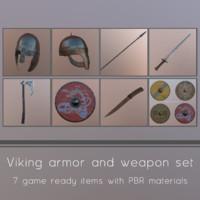 viking helmet 3d max