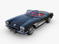 Chevrolet Corvette C1 Black