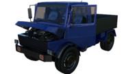 3d model truck interior