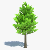 Cartoon Tree Small