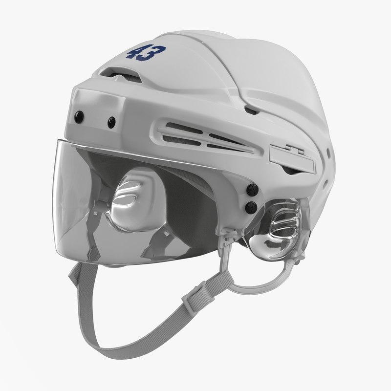 Hockey Helmet Generic 3ds 3d model 00.jpg