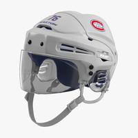hockey helmet montreal canadiens 3ds