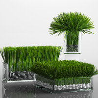 fbx grass arrangement
