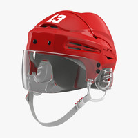 hockey helmet generic 2 3d c4d