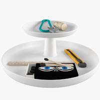 rotary tray 3d model
