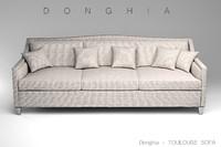 3d donghia toulouse sofa model