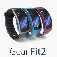 samsung gear fit2 2 3d model