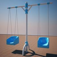 playground children 3d model