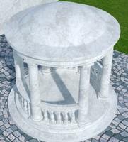 3d pergola stone p10 model