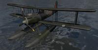 fairey seafox mk-1 3d 3ds