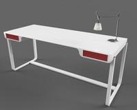 3d max concept desk design