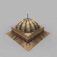 3d tomb 01 model