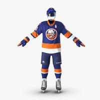 3d hockey equipment islanders