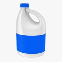3d model bleach bottle