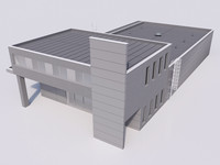 3d industrial building 09