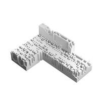 n-omino l-block 4 3d model