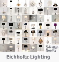 3d eichholtz lamps collected