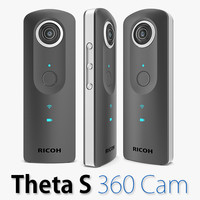 ricoh theta s 360 3d model