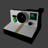 polaroid 1000 3d model