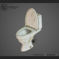 3d model toilet unreal
