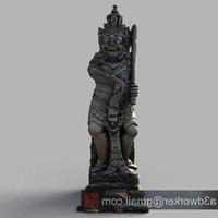 bali sculpture 3d max