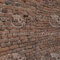 3d model wall 2 - red