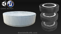hockey puck 3 types 3d 3ds