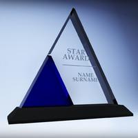 3d model trophy award cup 07