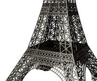 3dm eiffel tower simplified structure