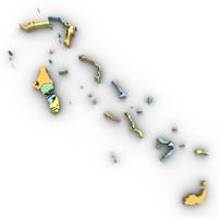 3d bahamas political model
