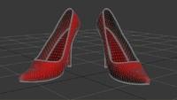 3d model heels
