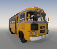 Bus Paz 672 lowpoly
