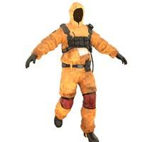 hazard suit 3d model