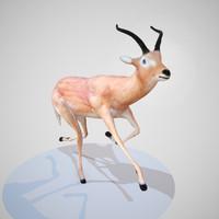 obj rigged impala