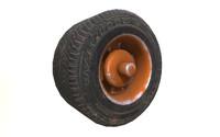 c4d truck wheel pbr